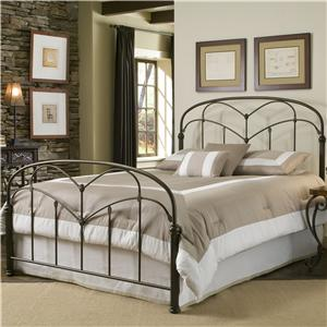 Morris Home Furnishings Metal Beds Queen Pomona Bed without Frame
