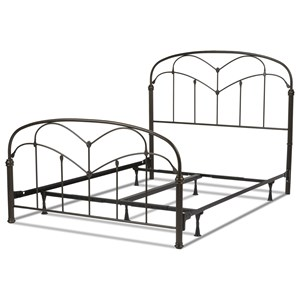 Queen Pomona Bed w/ Frame
