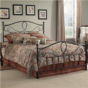 Morris Home Furnishings Metal Beds Queen Sylvania Bed