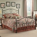 Fashion Bed Group Metal Beds California King Sylvania Bed w/ Frame