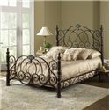 Fashion Bed Group Metal Beds Queen Strathmore Bed - Item Number: B11805