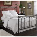 Morris Home Furnishings Metal Beds Queen Romano Bed  - Item Number: B10875