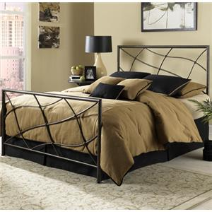 Fashion Bed Group Metal Beds Queen Sonata Bed