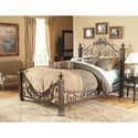 Fashion Bed Group Metal Beds Queen Baroque Metal Bed