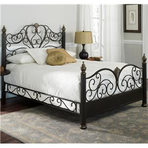 Fashion Bed Group Metal Beds Queen Elegance Bed