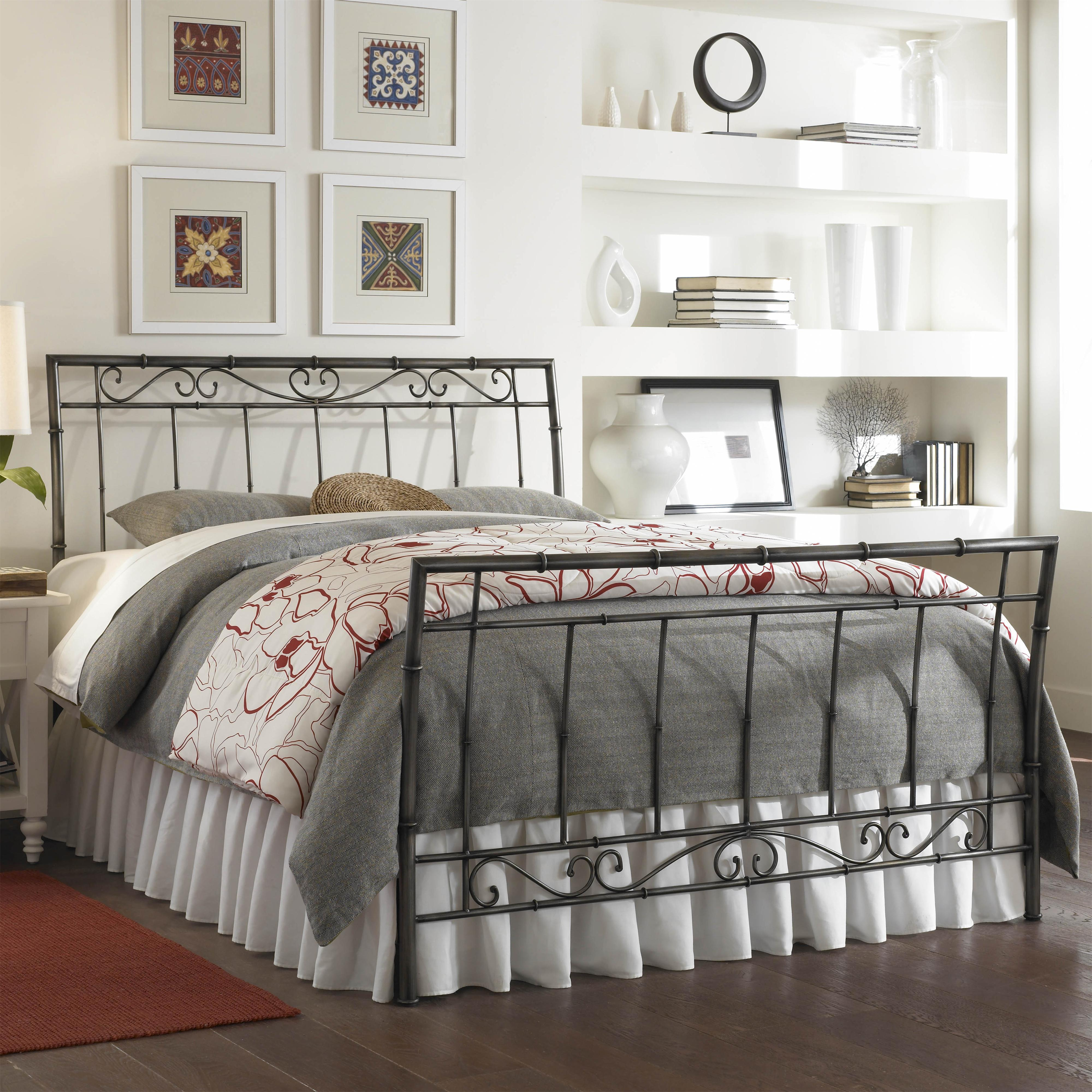 Fashion Bed Group Metal Beds Queen Ellington Bed W/ Frame   AHFA    Headboard U0026 Footboard Dealer Locator