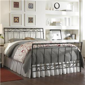 Morris Home Furnishings Metal Beds King Ellington Bed