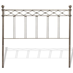 Fashion Bed Group Metal Beds Full Argyle Headboard
