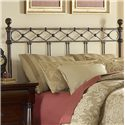 Fashion Bed Group Metal Beds Queen Argyle Headboard - Item Number: B12285