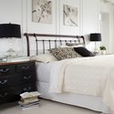 Fashion Bed Group Metal Beds Queen Legion Headboard