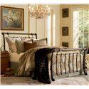 Morris Home Furnishings Metal Beds King/California King Legion Headboard - Headboard Shown in Bed Setting