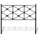 Fashion Bed Group Metal Beds Full Marlo Headboard - Item Number: B12474