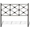 Morris Home Furnishings Metal Beds Queen Metal Headboard - Item Number: B12475
