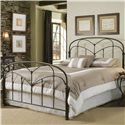 Fashion Bed Group Metal Beds Queen Pomona Headboard  - Headboard Shown in Bed Setting