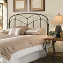 Fashion Bed Group Metal Beds King/California King Pomona Headboard
