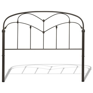 Morris Home Furnishings Metal Beds Cal King Metal Headboard