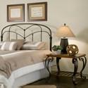 Morris Home Furnishings Metal Beds California King Transitional Pomona Metal Headboard