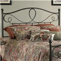 Fashion Bed Group Metal Beds Queen Sylvania Headboard  - Item Number: B12775