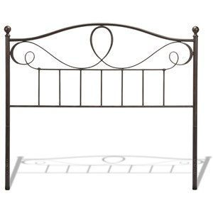 Fashion Bed Group Metal Beds Queen Sylvania Headboard