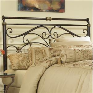 Morris Home Furnishings Metal Beds Queen Lucinda Headboard