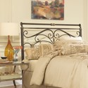 Fashion Bed Group Metal Beds King Lucinda Headboard