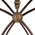 Fashion Bed Group Metal Beds California King Traditional Lucinda Metal Headboard