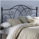 Fashion Bed Group Metal Beds Full Deland Headboard - Item Number: B12A14
