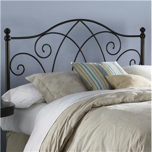 Morris Home Furnishings Metal Beds Queen Deland Headboard
