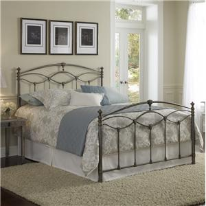 Fashion Bed Group Metal Beds Queen Genoa Bed