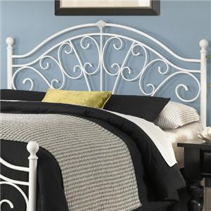 Fashion Bed Group Metal Beds Full Wingate Headboard