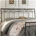 Morris Home Furnishings Metal Beds Full Ellington Headboard w/ Spindles - Headboard Shown May Not Represent Size Indicated