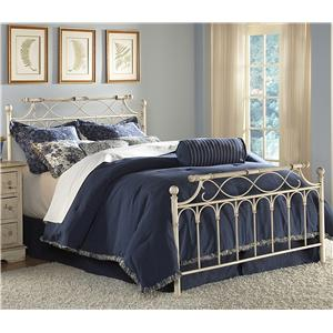 Morris Home Furnishings Metal Beds Queen Chester Bed w/ Frame