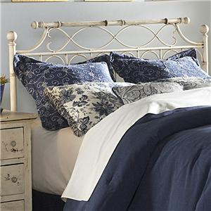 Morris Home Furnishings Metal Beds Queen Chester Duo Panel