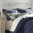 Fashion Bed Group Metal Beds King Chester Headboard - Item Number: B25076