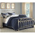 Morris Home Furnishings Metal Beds California King Chester Duo Panel Headboard or Footboard  - Duo Panel Shown in Bed Setting