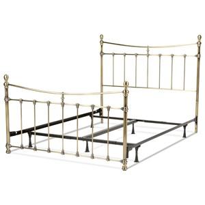 Morris Home Metal Beds King Leighton Bed