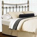 Morris Home Furnishings Metal Beds California King Traditional Leighton Metal Ornamental Bed