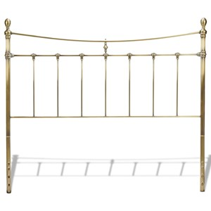 Morris Home Metal Beds Queen Leighton Headboard