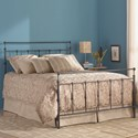 Fashion Bed Group Metal Beds Winslow Twin Bed with Metal Panels and Aluminum Castings