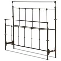 Fashion Bed Group Metal Beds California King Winslow Headboard and Footbo - Item Number: B40157