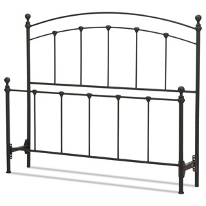 Fashion Bed Group Metal Beds King Sanford Headboard and Footboard