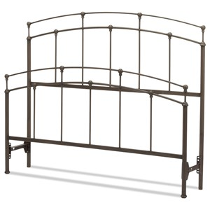 Queen Fenton Metal Bed Without Frame