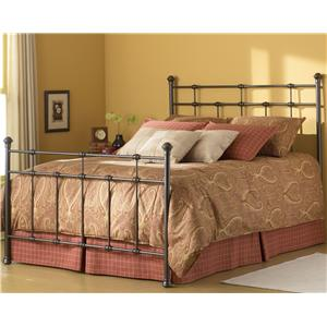 Morris Home Furnishings Metal Beds Queen Dexter Bed Without Frame