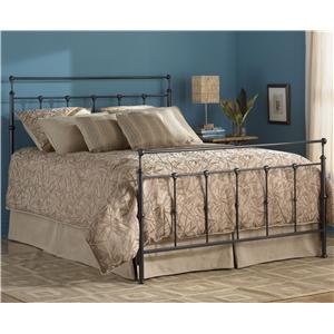 Morris Home Furnishings Metal Beds Queen Winslow Bed w/ Frame
