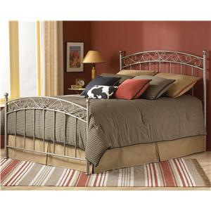 Morris Home Furnishings Metal Beds Queen Ellsworth Metal Bed without Frame