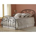 Morris Home Furnishings Metal Beds California King Transitional Grafton Metal Ornamental Bed
