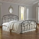 Fashion Bed Group Metal Beds California King Transitional Grafton Metal Ornamental Bed