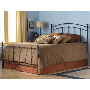 Fashion Bed Group Metal Beds Twin Sanford Bed w/ Frame