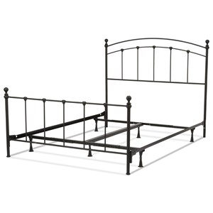 Fashion Bed Group Metal Beds Queen Sanford Bed w/ Frame