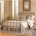 Fashion Bed Group Metal Beds King Fenton Metal Bed with Frame - Item Number: B41756